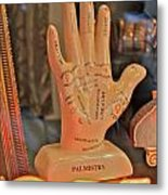 Palmistry Metal Print by Jerry Patterson