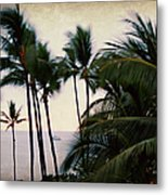 Palms In The Breeze Metal Print