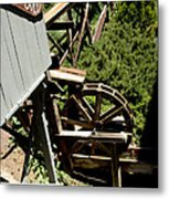 Panning For Gold In Virginia City Nevada Metal Print