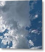 Panoramic Clouds Number 1o Metal Print