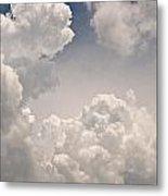 Panoramic Clouds Number 9 Metal Print