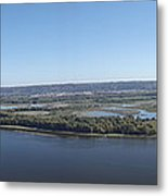 Panoramic Mississippi Metal Print