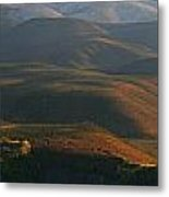 Panoramic Over Sapper Hill Metal Print