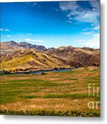 Panoramic Range Land Metal Print