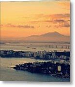 Panoramic View Of Niteroi Metal Print