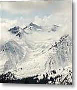 Panoramic View Of Snow-covered St Metal Print