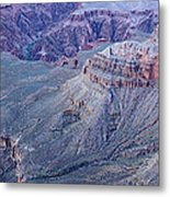 Panoramic View Of The Grand Canyon Metal Print