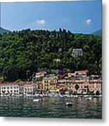 Panoramic View Of Toscolano-maderno Metal Print