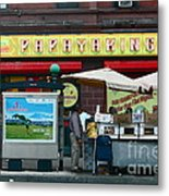 Papaya King Metal Print