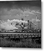Paper Mill Metal Print by Williams-Cairns Photography LLC