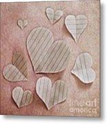 Papier D'amour Metal Print