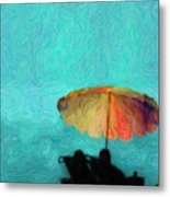 Paradise By The Sea Metal Print