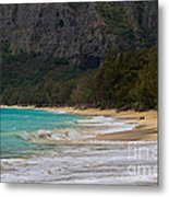 Paradise With A Ocean View Metal Print