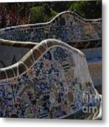 Parc Guell Barcelona Metal Print