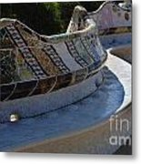 Parc Guell Spain Metal Print