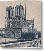 Paris - Notre Dame Metal Print
