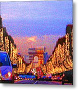Paris 04 Metal Print