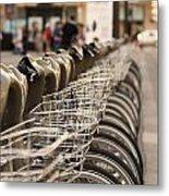 Paris Bikes Metal Print by Igor Kislev