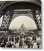Paris Exposition, 1889 Metal Print
