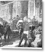 Paris: Les Halles, 1870 Metal Print