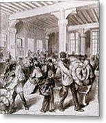 Paris: Pawnbroker, 1868 Metal Print