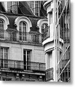 Paris Reflections 1 Metal Print