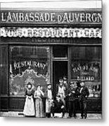 Paris: Restaurant, C1900 Metal Print
