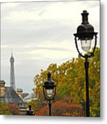 Paris Street Metal Print