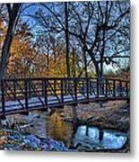 Park Bridge Metal Print