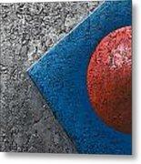 Part Sphere 1 Metal Print