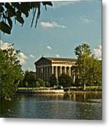 Parthenon At Nashville Tennessee 1 Metal Print