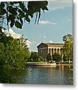 Parthenon At Nashville Tennessee 2 Metal Print