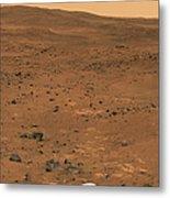 Partial Seminole Panorama Of Mars Metal Print