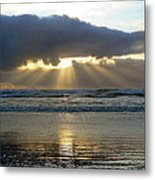 Parting The Heavens Metal Print