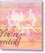 Party Invitation - General - Wild Azalea Blossoms Metal Print