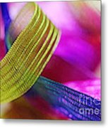 Party Ribbons Metal Print by Judi Bagwell