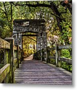 Passing Over Into The Light Metal Print