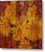 Passion Flowers Metal Print by Cindy Wright