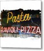 Pasta Metal Print by Geoff Strehlow
