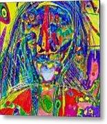 Pastel Man 16 Metal Print