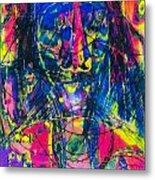 Pastel Man 17 Metal Print