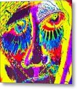 Pastel Man 19 Metal Print