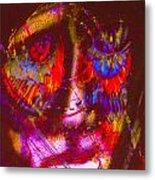 Pastel Man 20 Metal Print