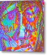 Pastel Man 22 Metal Print