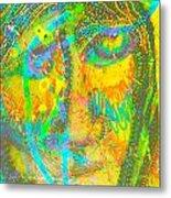 Pastel Man 27 Metal Print
