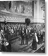 Pasteur's Jubilee Celebrations, 1892 Metal Print by