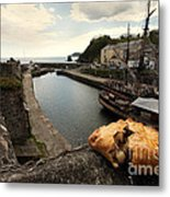 Pasty On The Harbour Metal Print