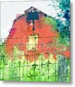 Patched Up  Art Metal Print