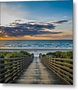Path Of Peace Metal Print