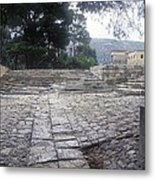 Path To Theatre Metal Print